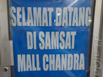 Samsat Mall Chandra, Bandar Lampung