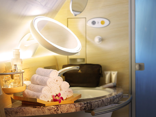 Spa on Airbus A380