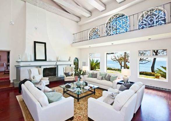 million dollar living rooms see this house a 45 million dollar malibu mediterranean 14605