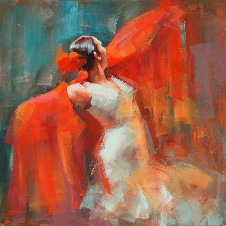 Энергичные картины художницы Renata Domagalska 19