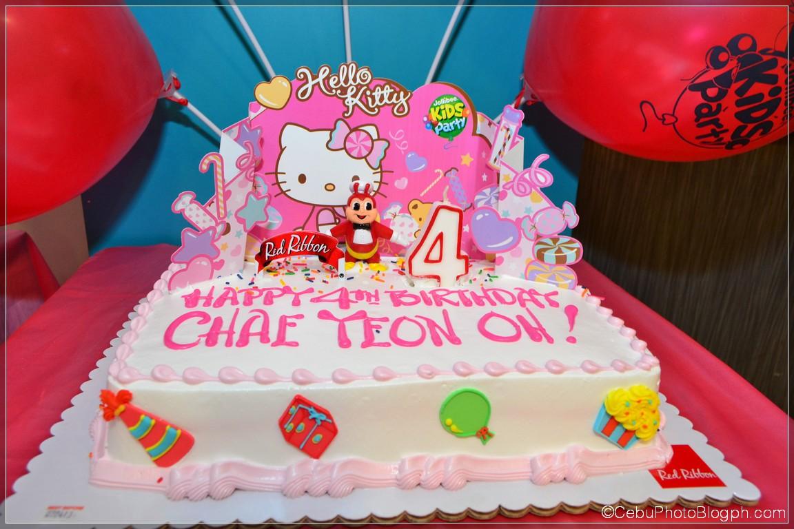 Red Ribbon Birthday Cakes Design Philippines Cake Recipe