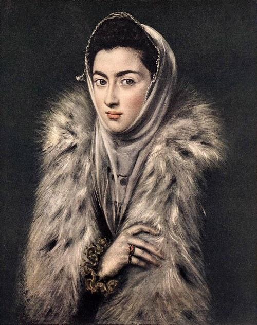 Senhora com Arminho - El Greco e suas principais pinturas ~ Maneirismo