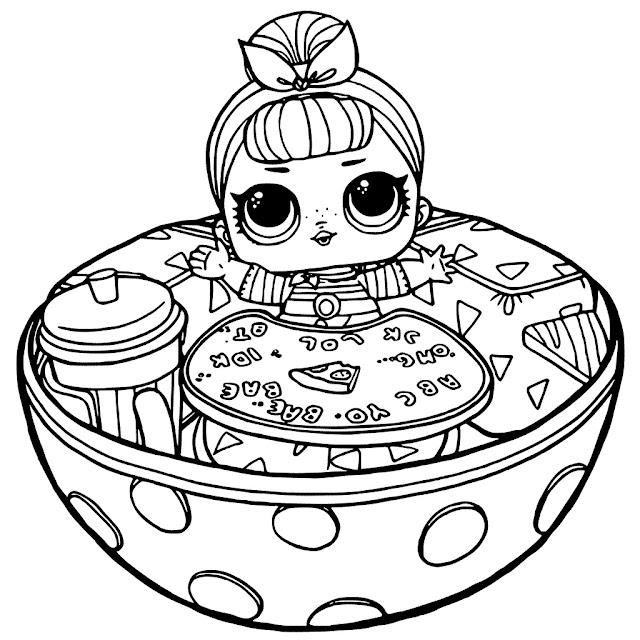 Coloring Pages Disney Lol : Desenhos para colorir boneca lol como fazer