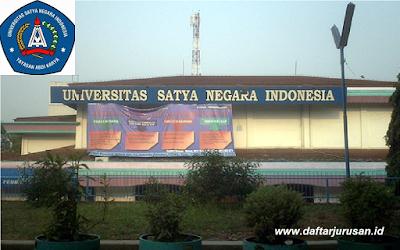 Daftar Fakultas dan Program Studi USNI Universitas Satya Negara Indonesia