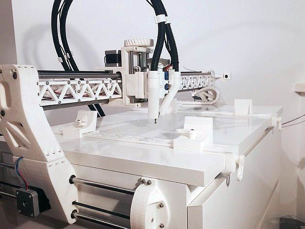 DIY 3D Printing: rBot 3D Printable CNC Mill with IKEA Work ...