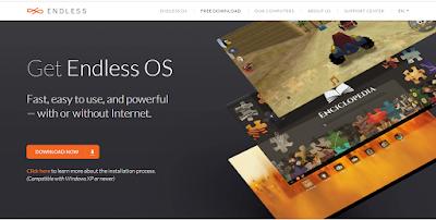 Endless OS, aplikasi gratisnya gak ketulungan