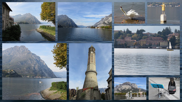 Weekend City Break in Bergamo Italy: Day trip to Lecco. Views of Lake Como