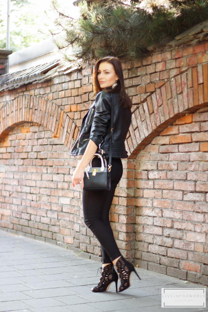 black transparent bodysuit.