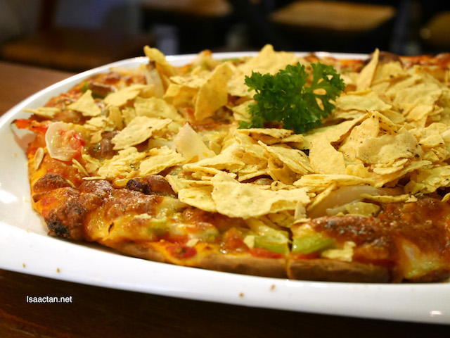 Mission Chilli A-Con-Plished Pizza (RM26.90)