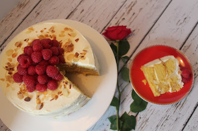 Orange, almond and mascarpone layer cake (gluten free)