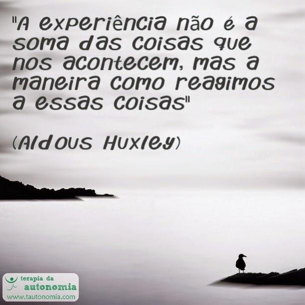 Aldous Huxley - A experiencia