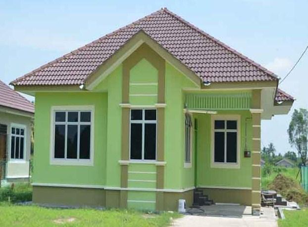 rumah paling sederhana di kampung
