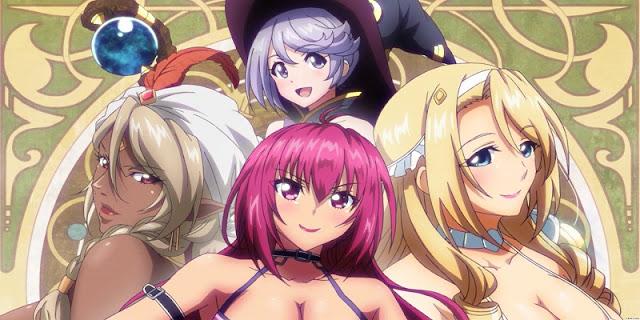 sinopsis anime Bikini Warriors (2015)