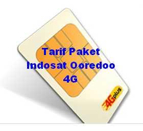 paket 4g indosat ooredoo