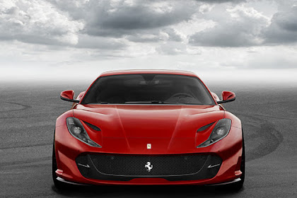 The 789bhp Ferrari 812 Superfast cars with V12 engine