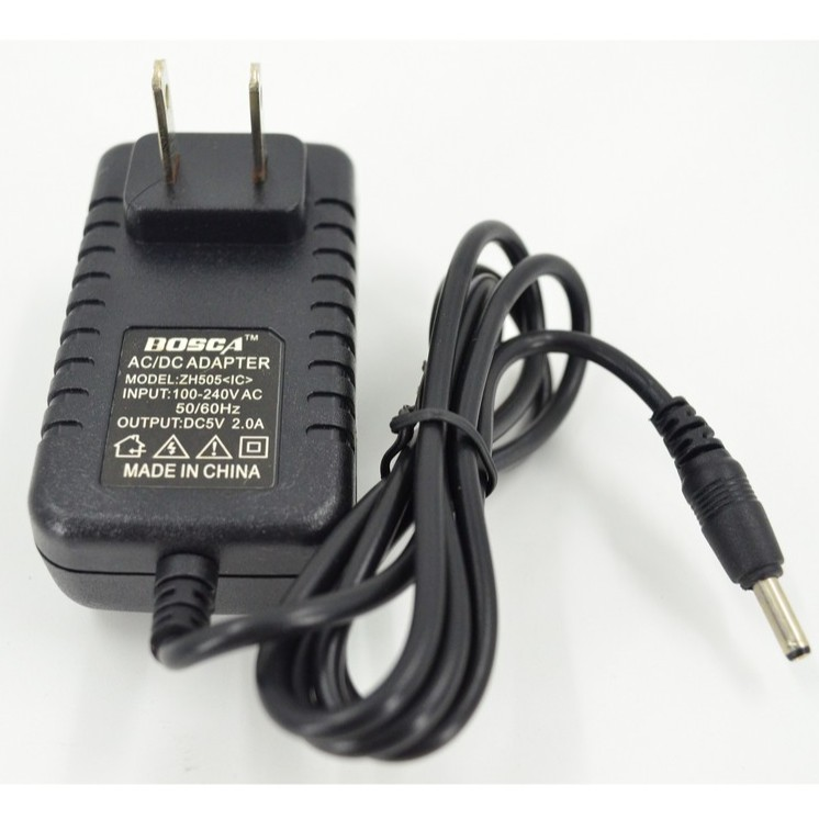 ZH-505/5.5mm BOSCA POWER ADAPTOR 5V 2A