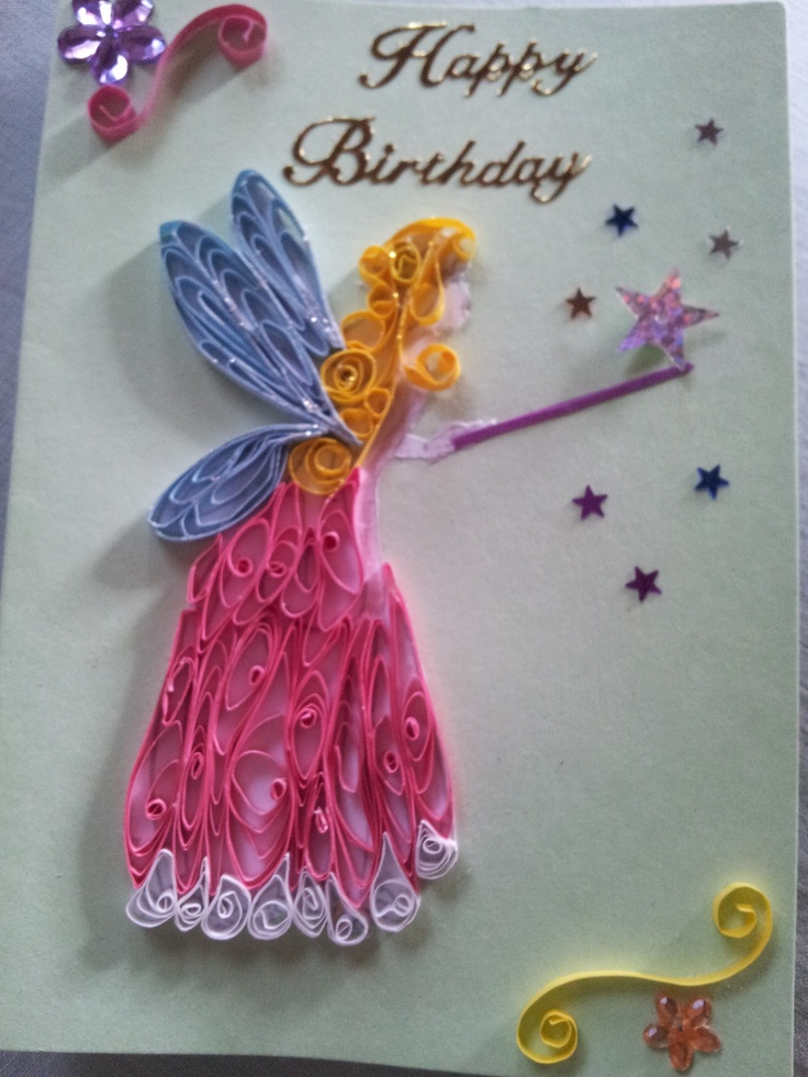 Handmade Quilled Birthday Cards Ideas