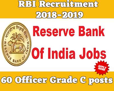 RBI Recruitment 2018-2019