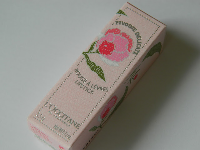L'Occitane Spring Collection Lipstick: Pivoine Delicate 02