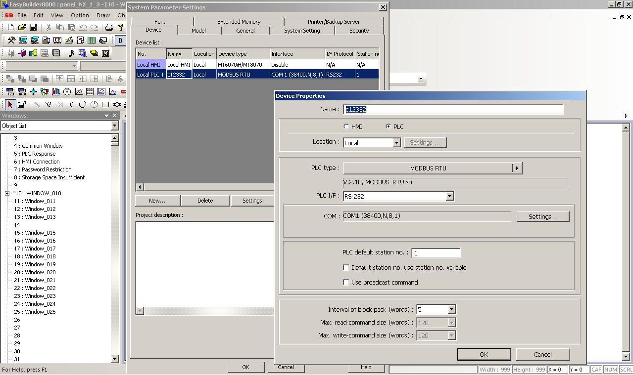Cybrotech PLC/HMI/SCADA programming: PLC/HMI communication