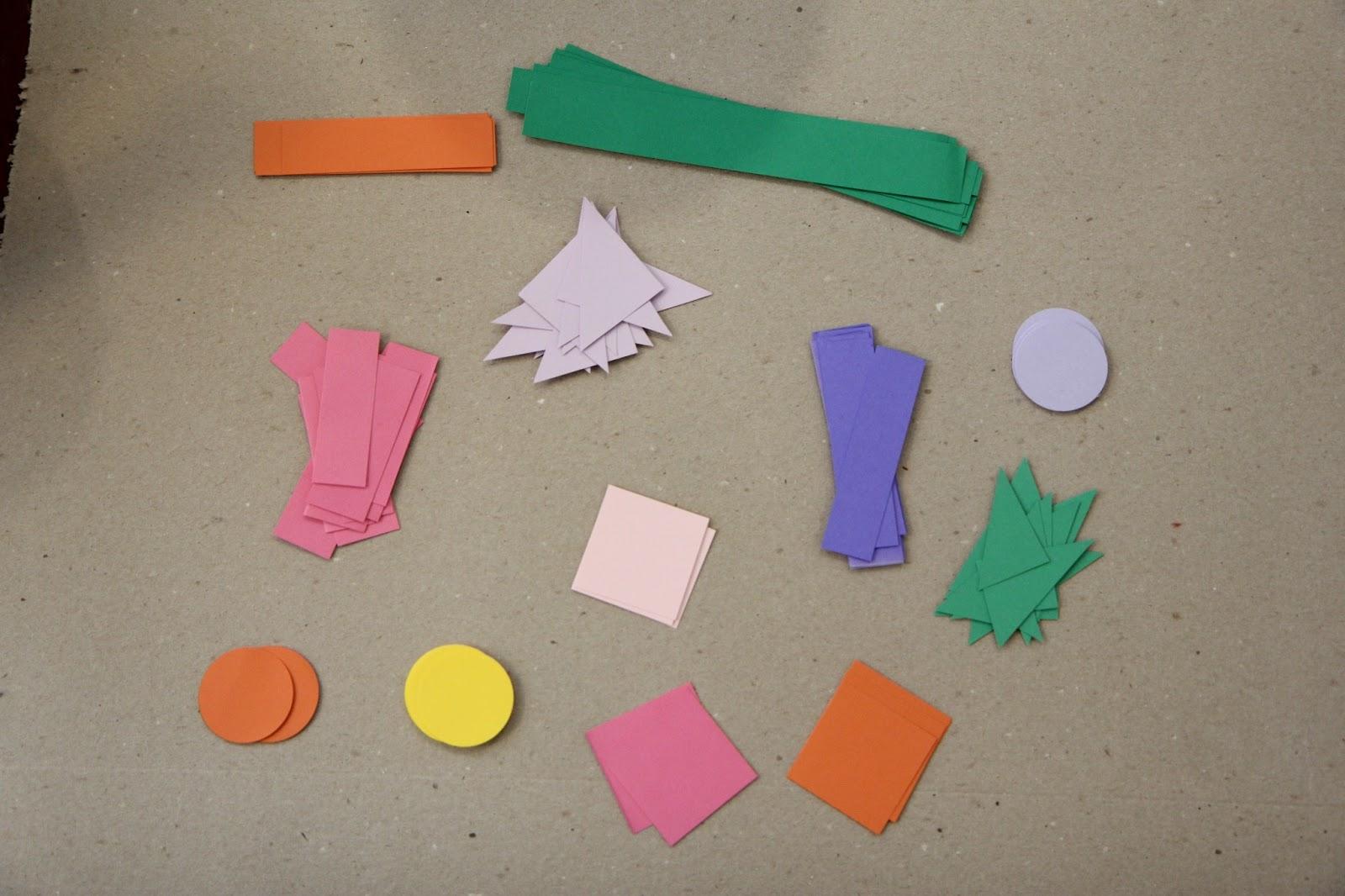 Cutting Duplicate Paper Shapes