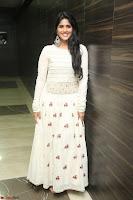 Megha Akash in beautiful White Anarkali Dress at Pre release function of Movie LIE ~ Celebrities Galleries 057.JPG