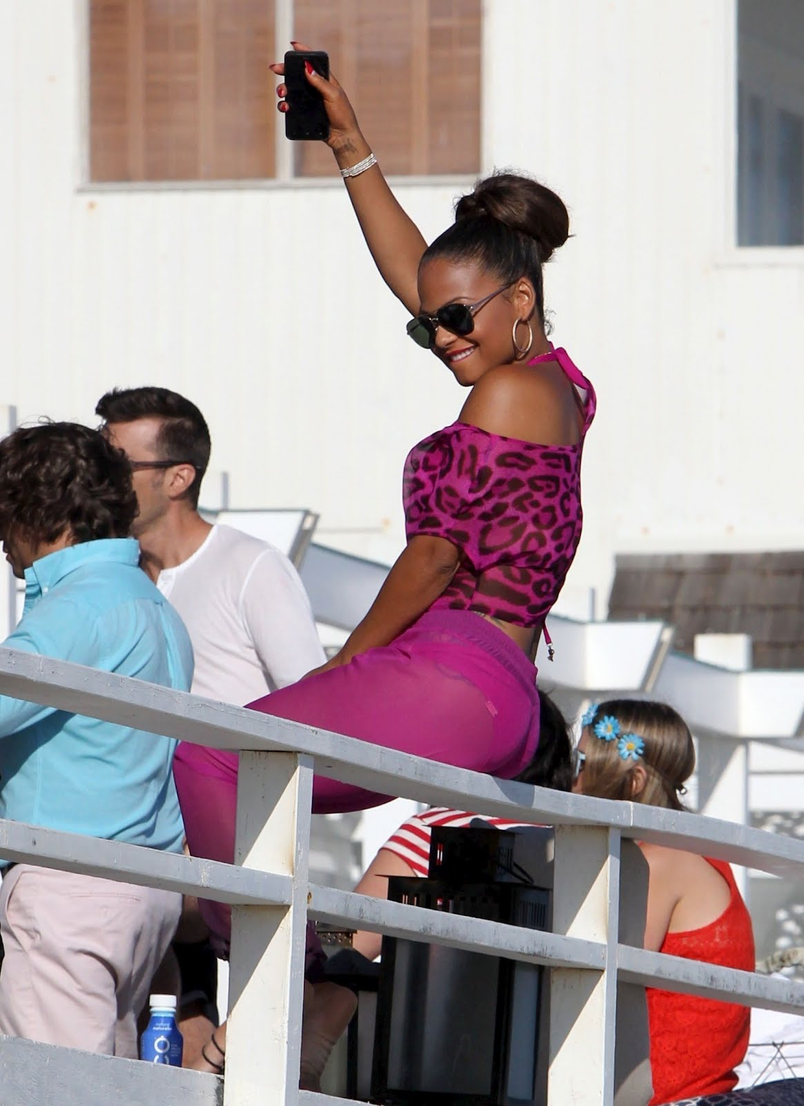 Christina Milian Shows Off Her Bikini Body In Malibu ...