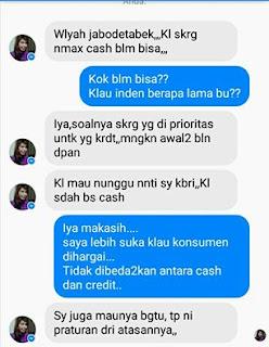 Mau beli Nmax cash malah lebih sulit dari beli kredit.