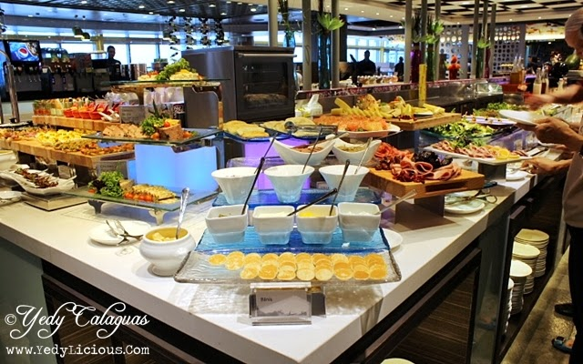Appetizer section at Vikings Buffet SM Megamall