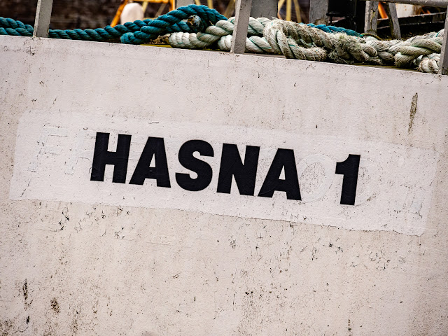 Photo of Hasna 1 in Maryport Harbour