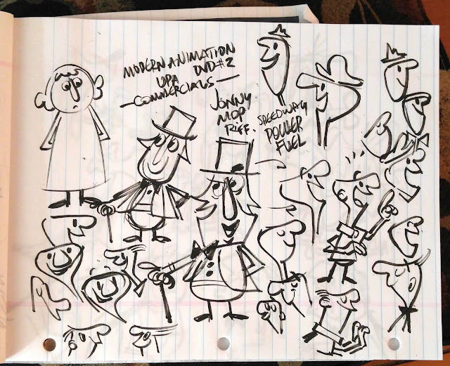Cartooning Character Design Sherm Cohen Pdf : Cartoon snap moderne upa style doodle page