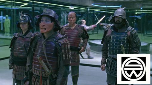 Samuráis japoneses en Westworld.