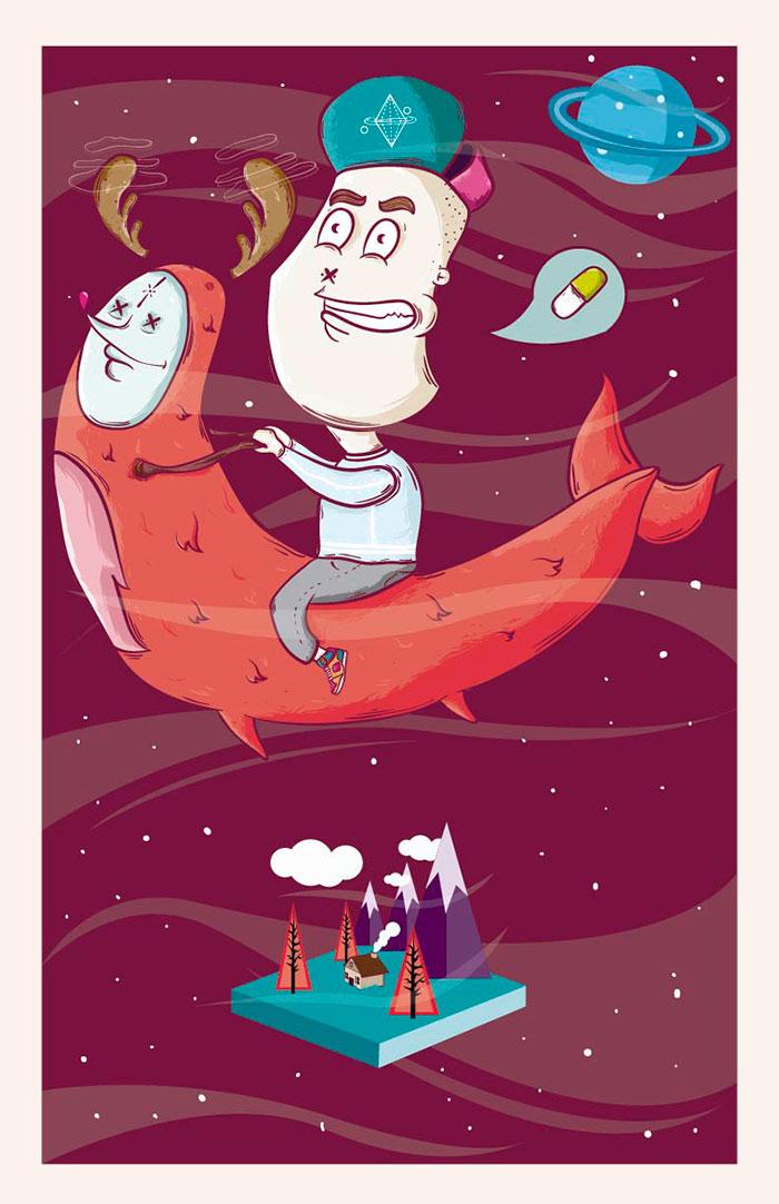 Ilustración de Piru Zeraus