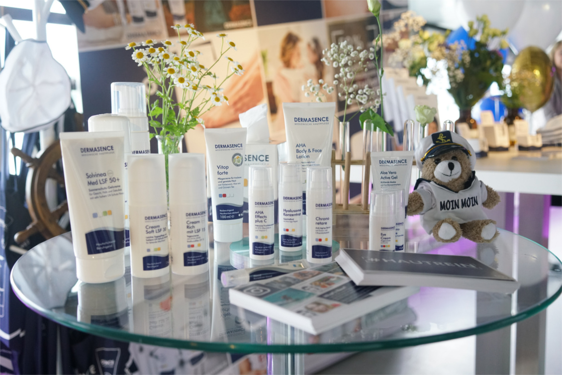 beautypress Bloggerevent 'Leinen los' - Dermasence