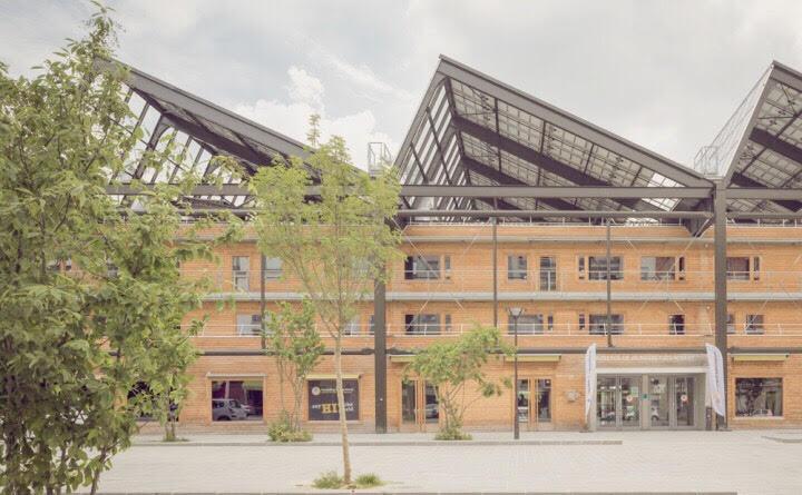 Halle Pajol, Paris, Solar, Power, Home