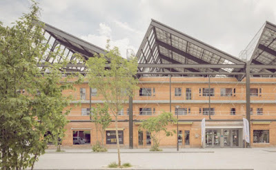 Halle Pajol, Paris, Solar, Power, Home