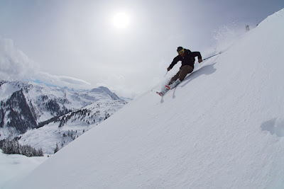 Frühlingsskifahren Kitzbühel