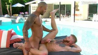 Pool Service – Jason Vario pounds Bennett Anthony's fuckhole!
