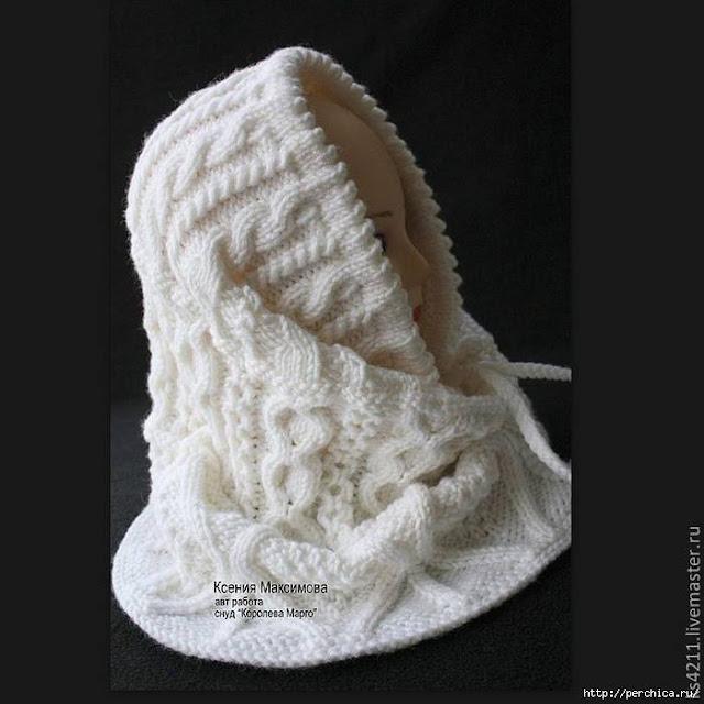 wzory czapek szydełkiem i na drutach