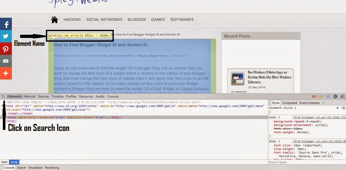 How to Add Google Web Fonts on Blogger Blogs