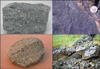 Macam-macam jenis batuan andesit