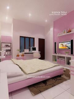 desain kamar anak cewek