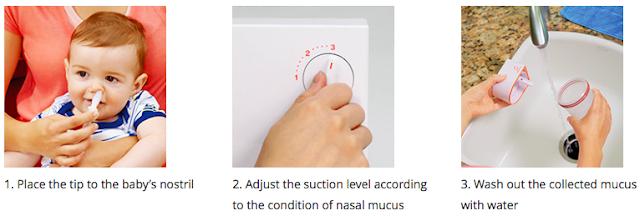 Baby Smile S-502 Nasal Aspirator giveaway