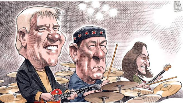 Alex Lifeson, Neil Peart y Geddy Lee