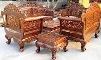 Meubel Kursi Ukir Kayu sebagai keterangan dari pengertian seni kriya