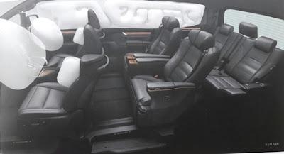 Interior Toyota Alphard 3.5L