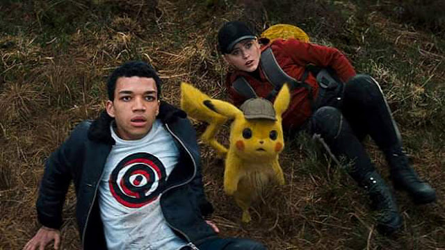 Recensione film Pokémon: detective Pikachu di Rob Letterman con Justice Smith, Kathryn Newton, Ryan Reynolds e Pikachu.