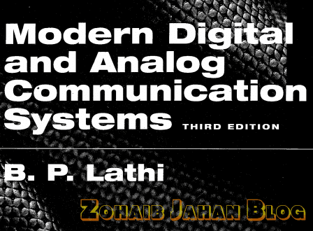 Modern Digital And Analog Communications Systems by B.P Lathi