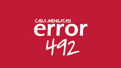 error 492 pada android