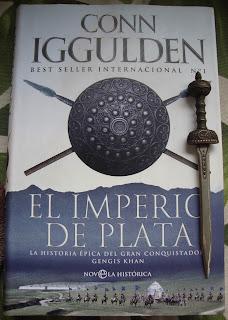 Portada del libro El imperio de plata, de Conn Iggulden
